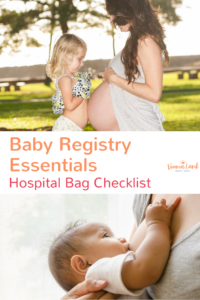 baby registry essentials and hospital bag checklist